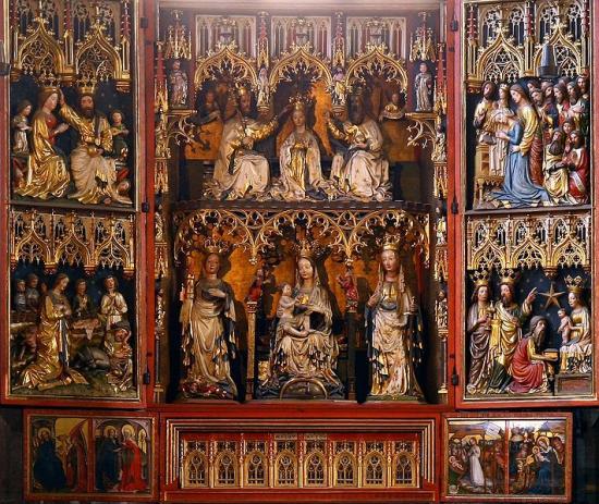 Autel Cathédrale Saint-Étienne de Vienne (Autriche)