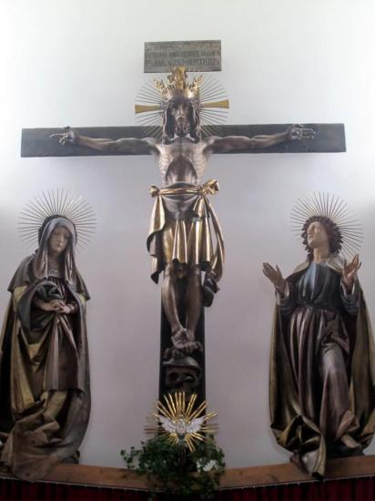 Christ de Josef Bachlechner à Navis (Tyrol-Autriche)