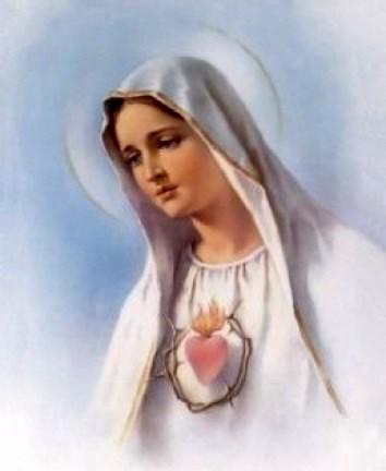 Coeur Immaculé de Marie transpercé