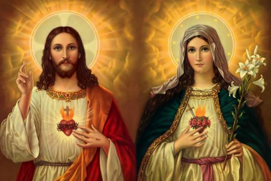 Saints Coeurs unis de Jésus et Marie
