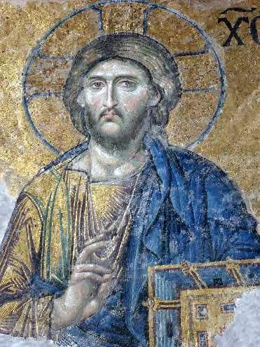 Icône du Christ (Sainte-Sophie, Istanbul - Turquie))