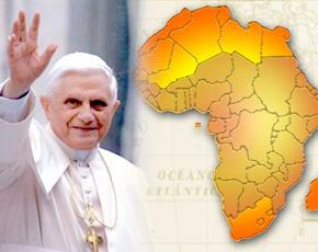 Benoît XVI africain