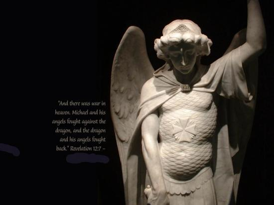 Fond d'écran Saint-Michel Archange et Révélations