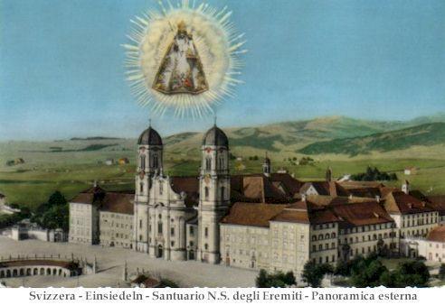 Notre-Dame des ermites, Einsiedeln, Suisse (Schwytz)