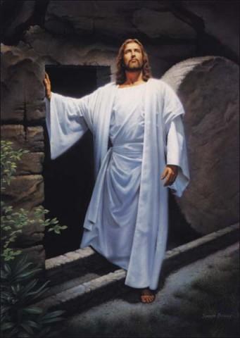 Fond d'écran Jésus Ressuscité