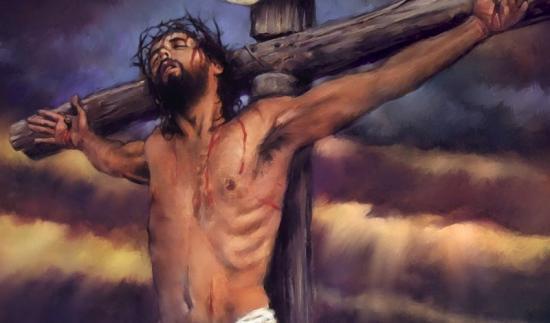 Fond d'écran Jésus crucifié