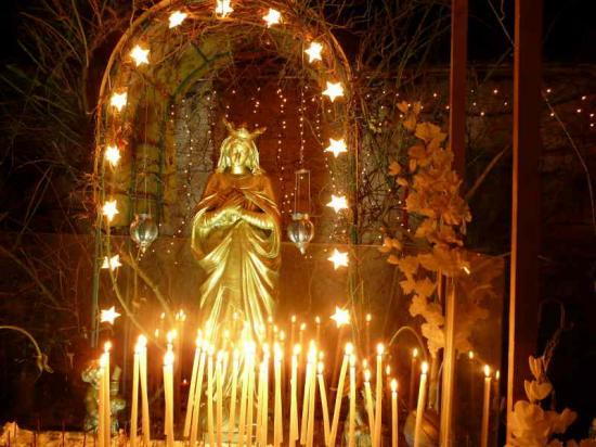 Bougies à la Vierge, photo http://www.cine-art-loisir.com