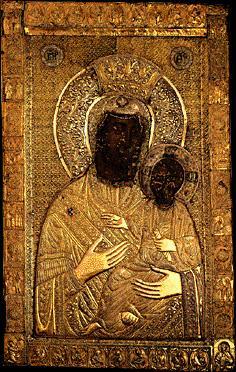 Icône de la Vierge et l'Enfant