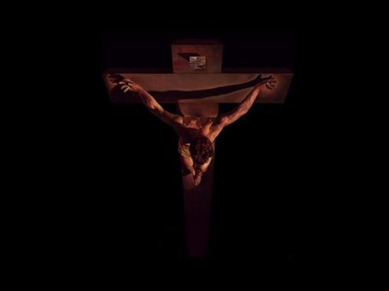 Fond d'écran Jésus de Dali