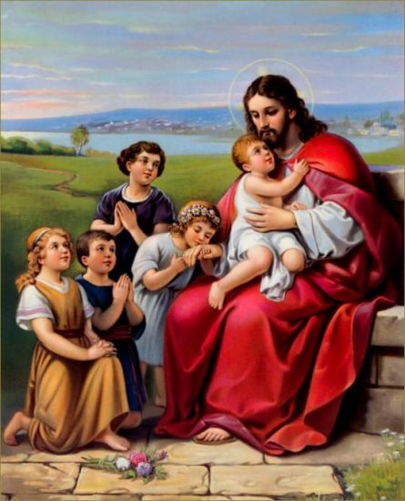 Jésus et les enfants