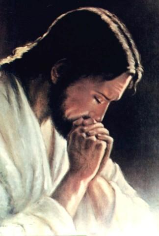 Fond d'écran Jésus priant