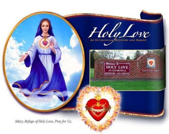 Marie, Refuge du Saint Amour, priez pour nous
