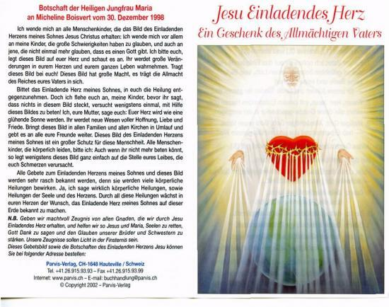 Jesu Einladendes Herz
