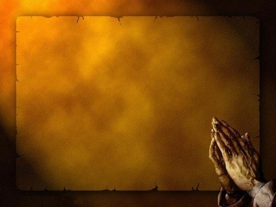 Fond d'écran mains qui prient