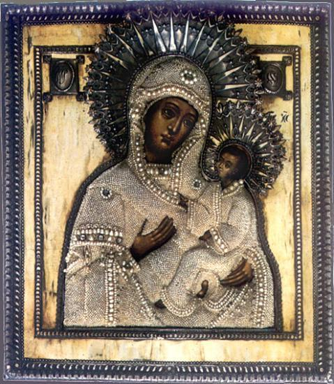 Icône de la Sainte-Vierge Marie