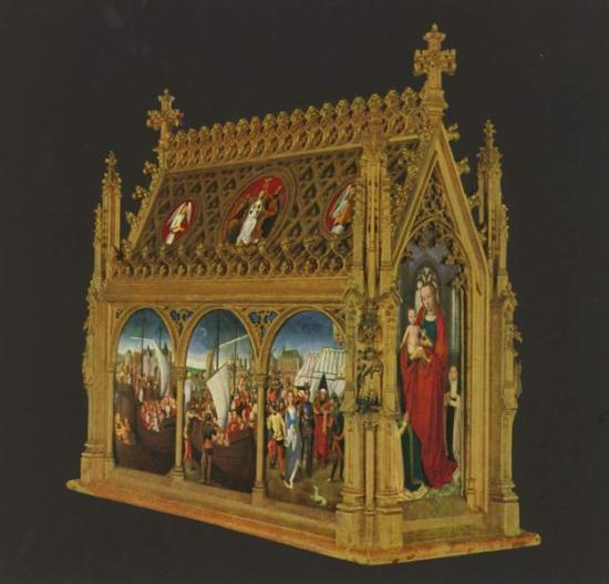 Reliques de Sainte-Ursule