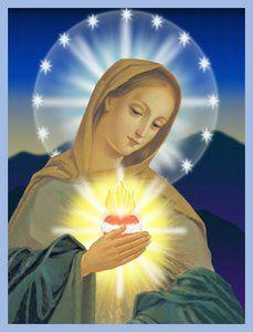 Flamme d'Amour du Coeur Immaculé de Marie