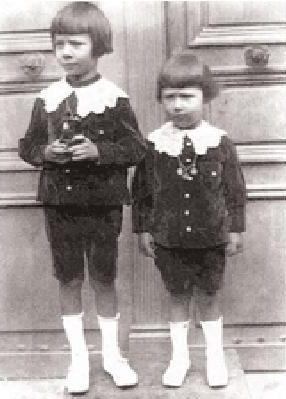 Guy de Fontgalland (à gauche)