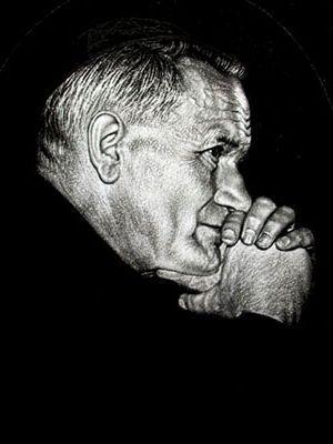 Jean-Paul II priant