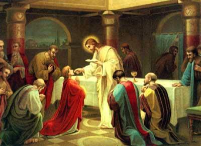 La plus belle Communion Eucharistique : à genoux, sans les mains