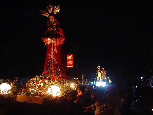 Jésus, semaine sainte, Philippines