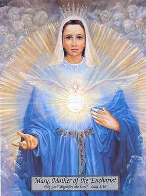 Marie, Mère de l'Eucharistie