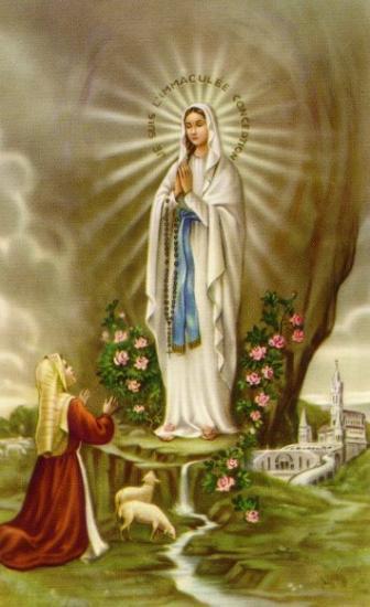 Notre-Dame de Lourdes et Sainte-Bernadette