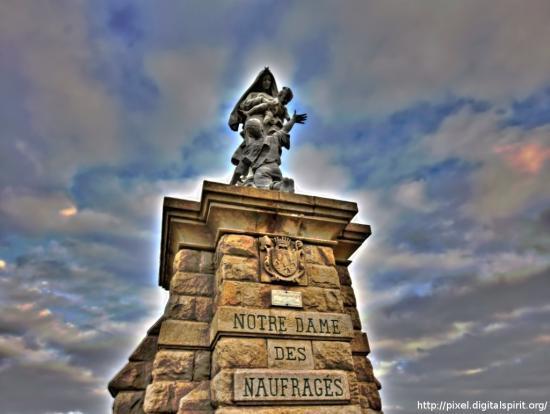 Notre-Dame-des-Naufragés, Pointe du Raz, Plogoff (Finistère)