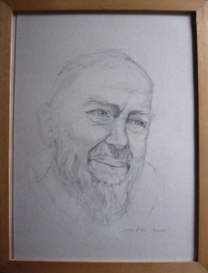 Padre Pio par Jean-Yves Roblès