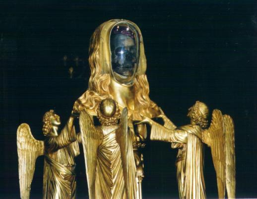 Relique du crâne de Sainte Marie-Madeleine