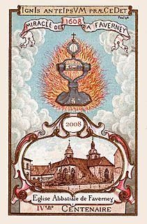 Miracle Eucharistique de Faverney en 1608