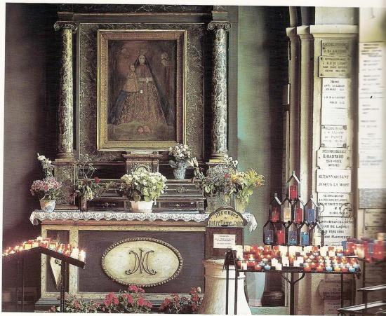 Tableau miraculeux de Notre-Dame de Laghet (06)