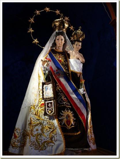 Virgen del Carmen, Patronne du Chili