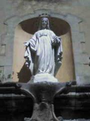 La Vierge Marie à Entrevaux