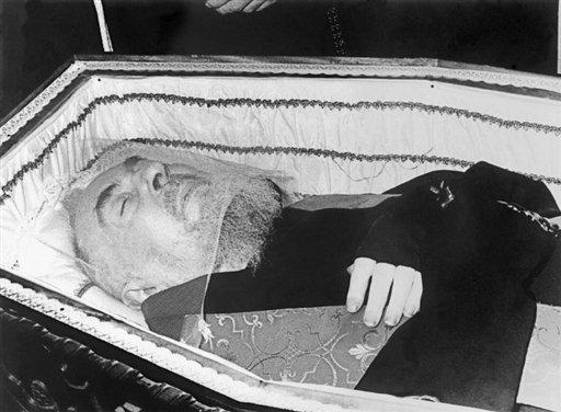 Exhumation Padre Pio