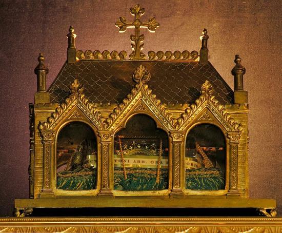 Reliquaire de Saint-Antoine, Warfhuizen (Pays-Bas)