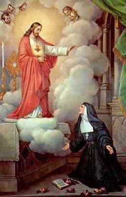 Sacré-Coeur et Marguerite-Marie Alacoque