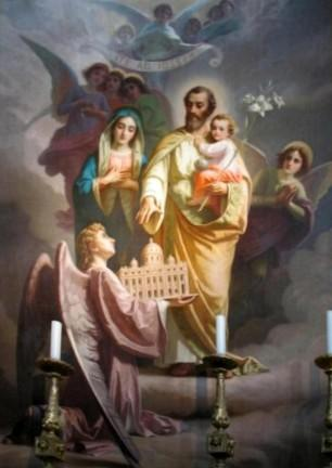 Tableau de la Sainte Famille