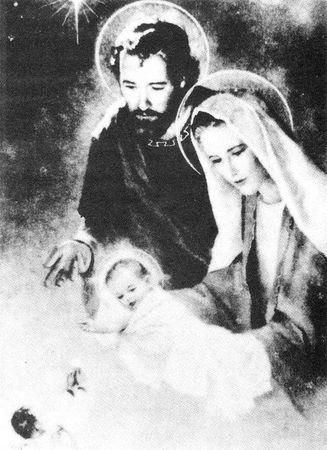 Image miraculeuse Sainte-Famille