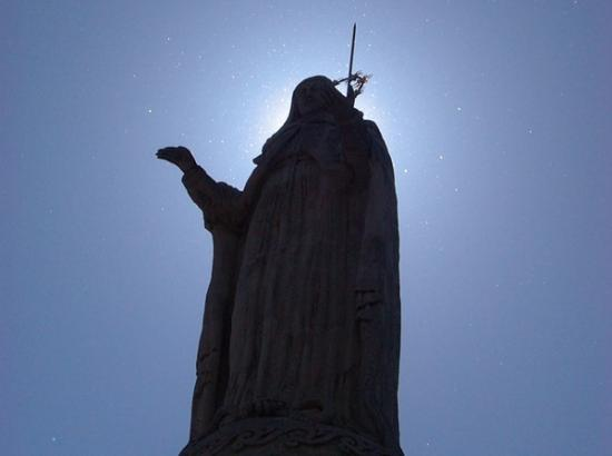 Vierge à Verviers, Ardèche