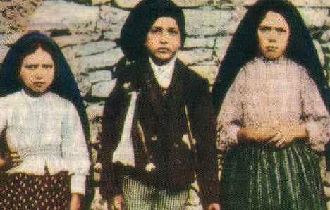 Jacinta, Francisco Marto et Lucie