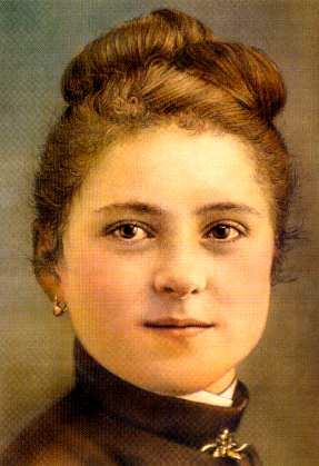 Portrait Sainte-Thérèse de Lisieux jeune