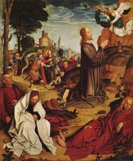 Le Christ au Jardin de Gethsémani