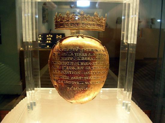 Reliques du Coeur d'Anne de Bretagne