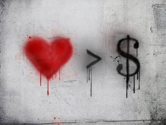 L'Amour est plus fort que l'argent