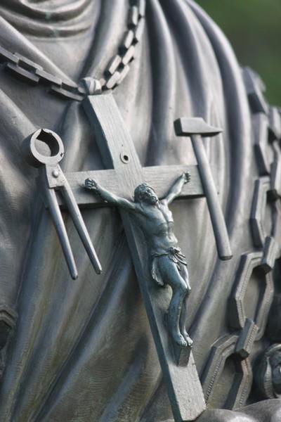 Cruz Virgen de La Salette