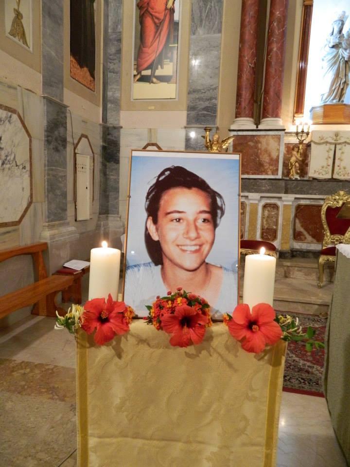 Hommage à Chiara Luce Badano, Castelvetrano, Sicile, octobre 2013