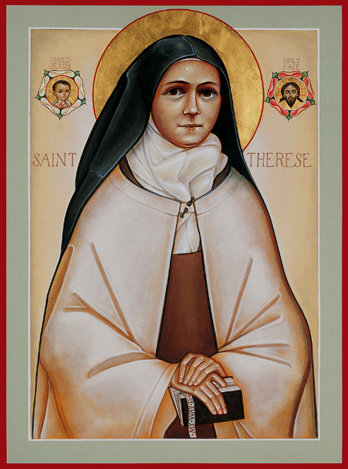 Icon St Thérèse of the Child Jesus and the Holy Face