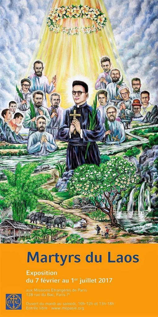 Père Joseph Tiên et ses 16 compagnons, martyrs du Laos