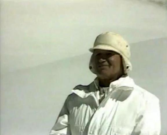 Jean-Paul II à la montagne
